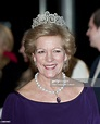 Queen Anne Marie Of Greece At A Gala Performance In The Dr ...