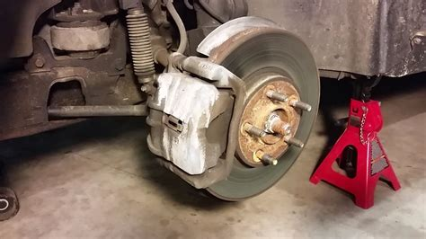 How to Replace Front Disc Brakes - Lincoln Continental ...