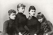 File:Princesses Irene, Victoria, Elisabeth and Alix of ...
