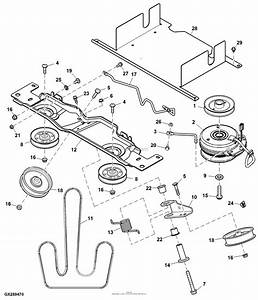 John Deere Z425 54 Inch Mower Deck Parts