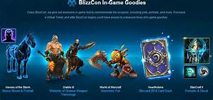 Invite friends to BlizzCon by gifting them a Virtual Ticket