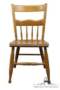 nichols stone rock maple windsor spindle side chair 1444