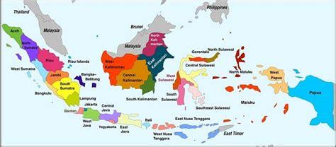 peta  provinsi  indonesia lengkap  ibukotanya