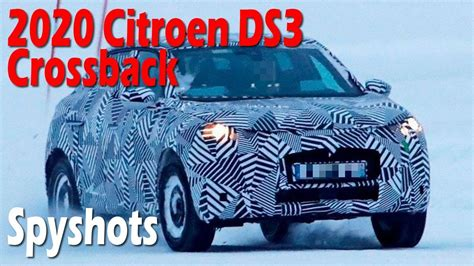 Citroen Ds3 2020 by Wow All New 2020 Citroen Ds3 Crossback Prototype Spied