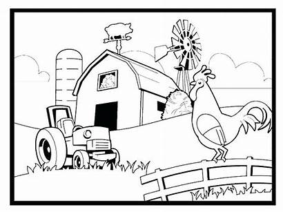 Coloring Pages Custom Personalized Farm Getcolorings Printable
