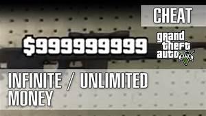Grand Theft Auto 5 / GTA 5 - Infinite / Unlimited Money ...