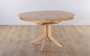 Hudson round extending oak dining room table furniture ebay for Round extending dining table