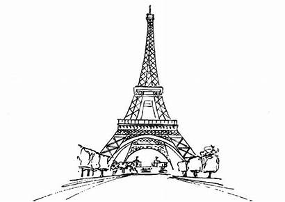 Eiffel Tower Coloring Stunning Colouring Printable Printablecolouringpages