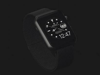 Rolex Apple Face Iphone Dribbble Configure Bottom