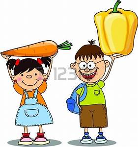 Eating Vegetables Clipart (13+)
