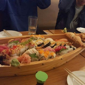 Sushi Boat Atlanta by Sushi Bar Yu Ka Order 81 Photos 180 Reviews