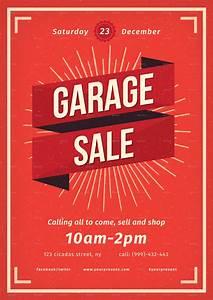 Free Resume Builder Vintage Garage Sale Flyer By Lilynthesweetpea Graphicriver