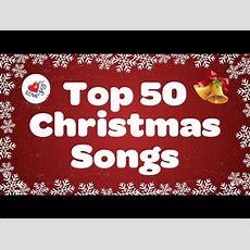 Top 50 Christmas Songs & Carols  Over 2 Hours Beautiful Xmas Music  Merry Christmas Youtube