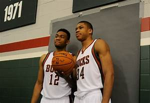 The faces of the Milwaukee Bucks? Young ... very, very young