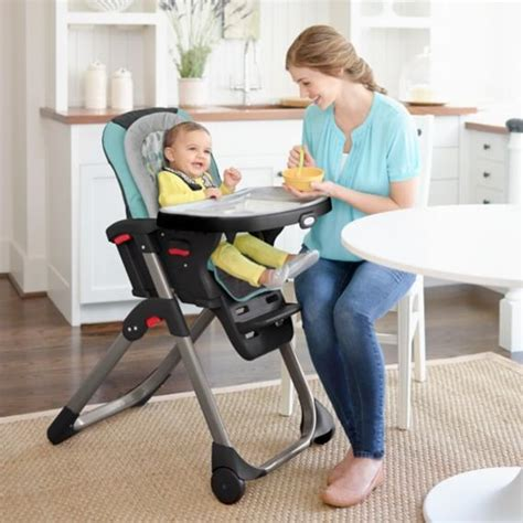 Graco Duodiner Lx High Chair Tangerine by Graco Duodiner Lx Baby High Chair Groove Baby