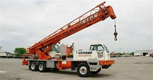 Hydraulic Truck Cranes For Rent And Sale In Chicago