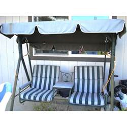 Menards Patio Swing Cushions by Walmart 2 Seater With Arm Rest Swing Replacement Canopy