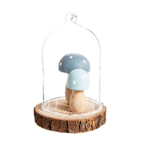 d 233 co chignons sous cloche pour sapin en verre h 6 cm maisons du monde