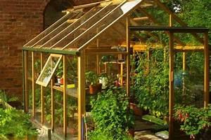 Serre Acier Verre : quel mat riau pour la structure de la serre bois ~ Premium-room.com Idées de Décoration