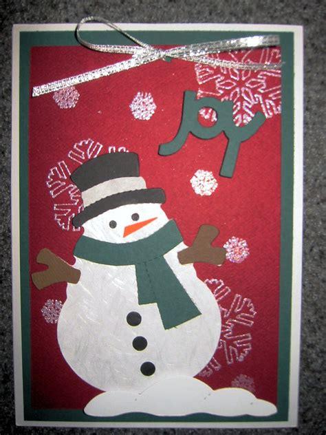 wordless wednesday handmade christmas cards