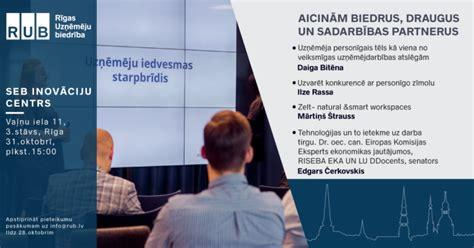 Uzņēmēju iedvesmas starpbrīdis II - Rīgas Uzņēmēju Biedrība
