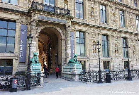 Eingangportedeslionslouvre  Paris Mal Anders