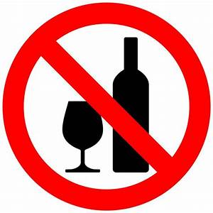 no alcohol   Clipart - Don't drink alcohol - No tomar ...