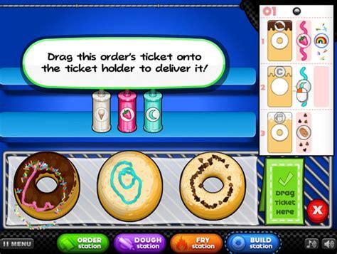 jeux de cuisine avec papa louis jouer à papa 39 s donuteria jeux gratuits en ligne avec