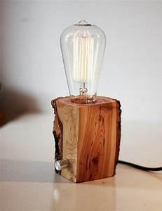 Lampe Aus Holz : diy lampe 76 super coole bastelideen dazu ~ Eleganceandgraceweddings.com Haus und Dekorationen