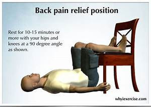 are you in need of a lower back pain remedy you39re not With best way to lay with lower back pain