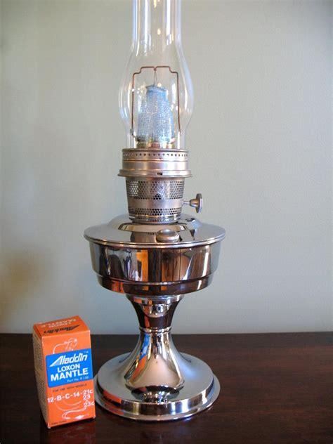 vtg 24 quot aladdin 23 oil kerosene l nickel chrome