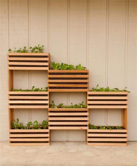 Vertical Garden Boxes by Vertical Garden Boxes Home Decorating Trends Homedit