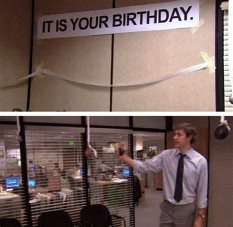 It Is Your Birthday D  The Office  The Office Us Pinterest