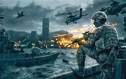 Soldier Cool Wallpapers Military Wallpapersafari Raining Rifle