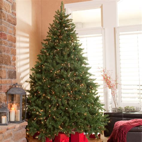 artificial 10 foot christmas tree online for sale classic pine pre lit tree trees at hayneedle