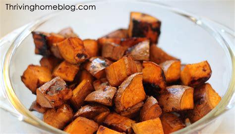 simple sweet potato recipe balsamic sweet potatoes recipe thriving home