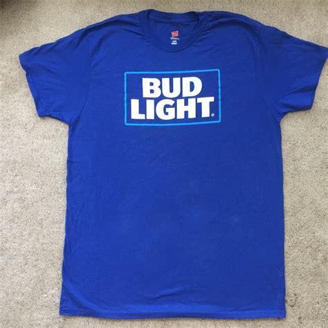 bud light t shirt bud light nwot men 39 s large bud light t shirt from