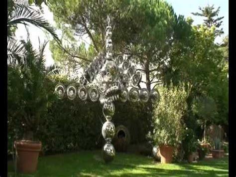 Windrad Aus Edelstahl Im Garten Youtube