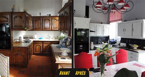 renovation cuisine bois avant apres relooking cuisine vannes rennes lorient 1 rénovation