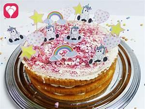 Einhorn Kuchen Deko : einhorn deko picker als torten topping balloonas ~ Eleganceandgraceweddings.com Haus und Dekorationen