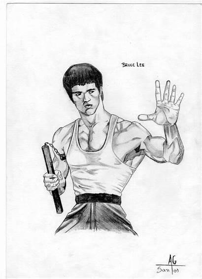 Bruce Lee Desenhos
