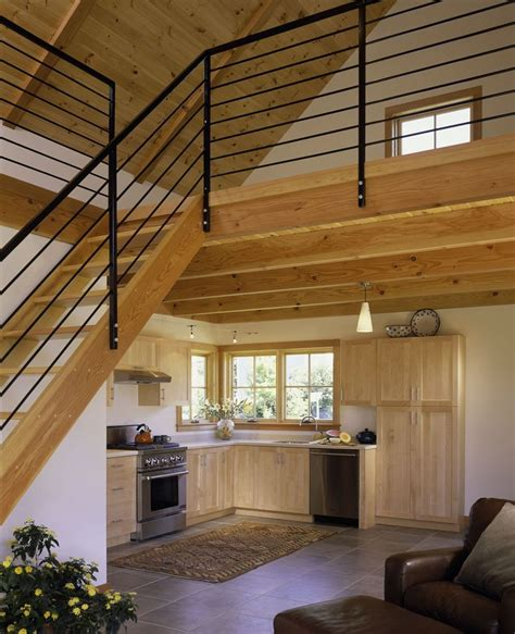 house with loft tiny house with loft white painted interior small