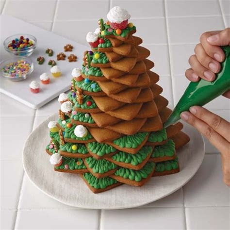 3d cookie christmas tree recipe with video tutorial