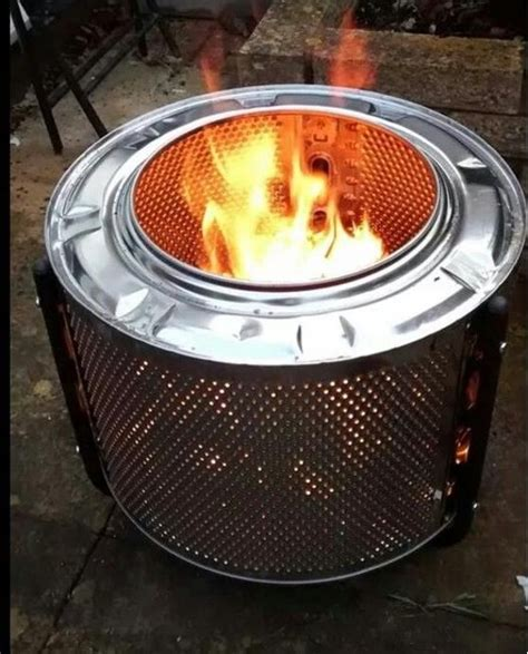 Diy Make A Fire Pit Out Of A Washing Machine  Rc Willey Blog
