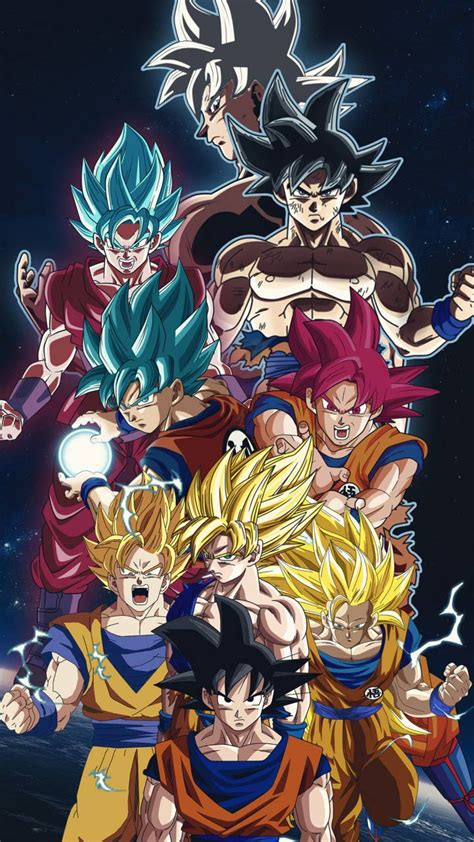 goku transformations wallpaper  shadowtheripper de