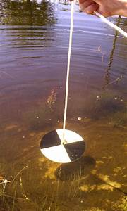 Inside The Water Column  The Secchi Disk    Bob Lusk Outdoors