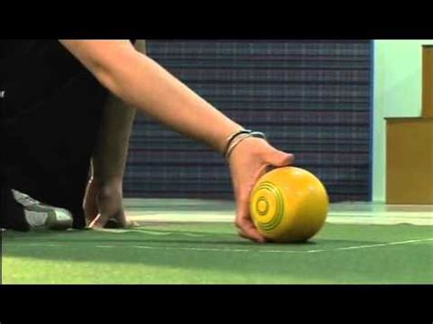 indoor bowls nelson indoor bowls grip and delivery