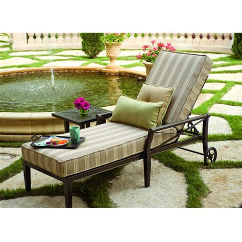 furniture for patio woodard andover adjustable chaise lounge