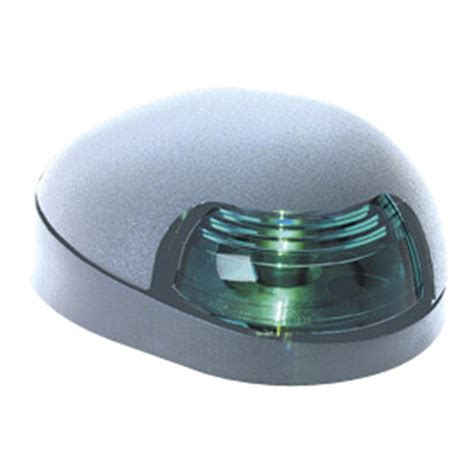 Where To Mount Boat Navigation Lights by Attwood 7 Quot Deck Mount Navigation Light Green Light