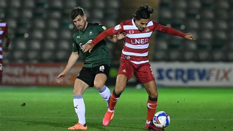 Plymouth Argyle vs Doncaster Rovers on 27 Oct 20 - Match ...